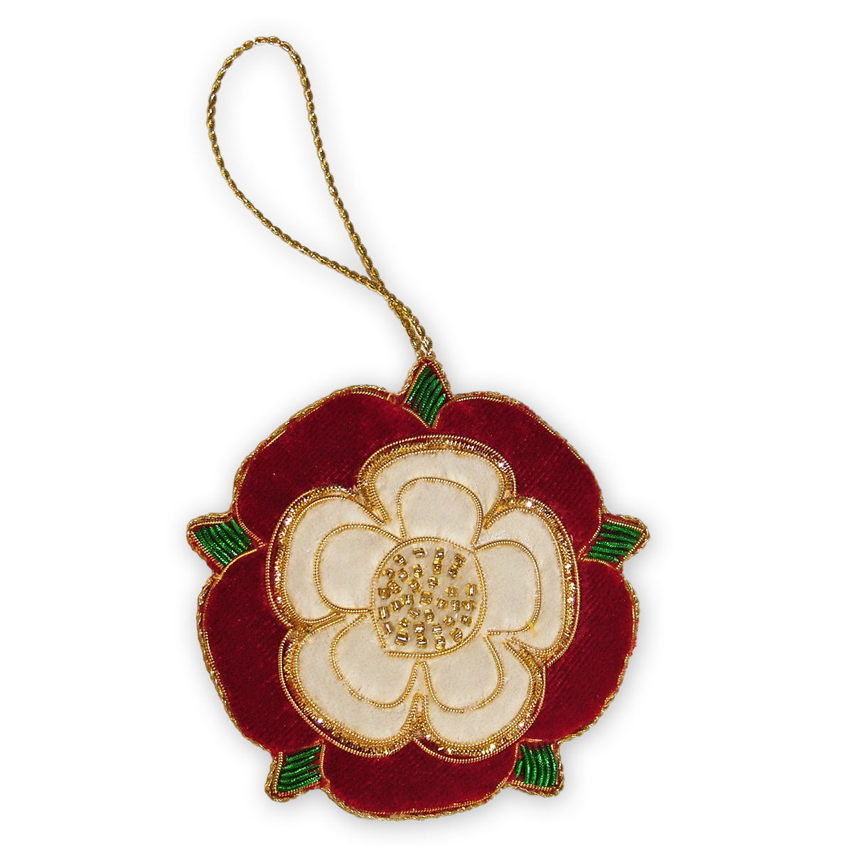 Tudor christmas decorations make for Decoration or rose