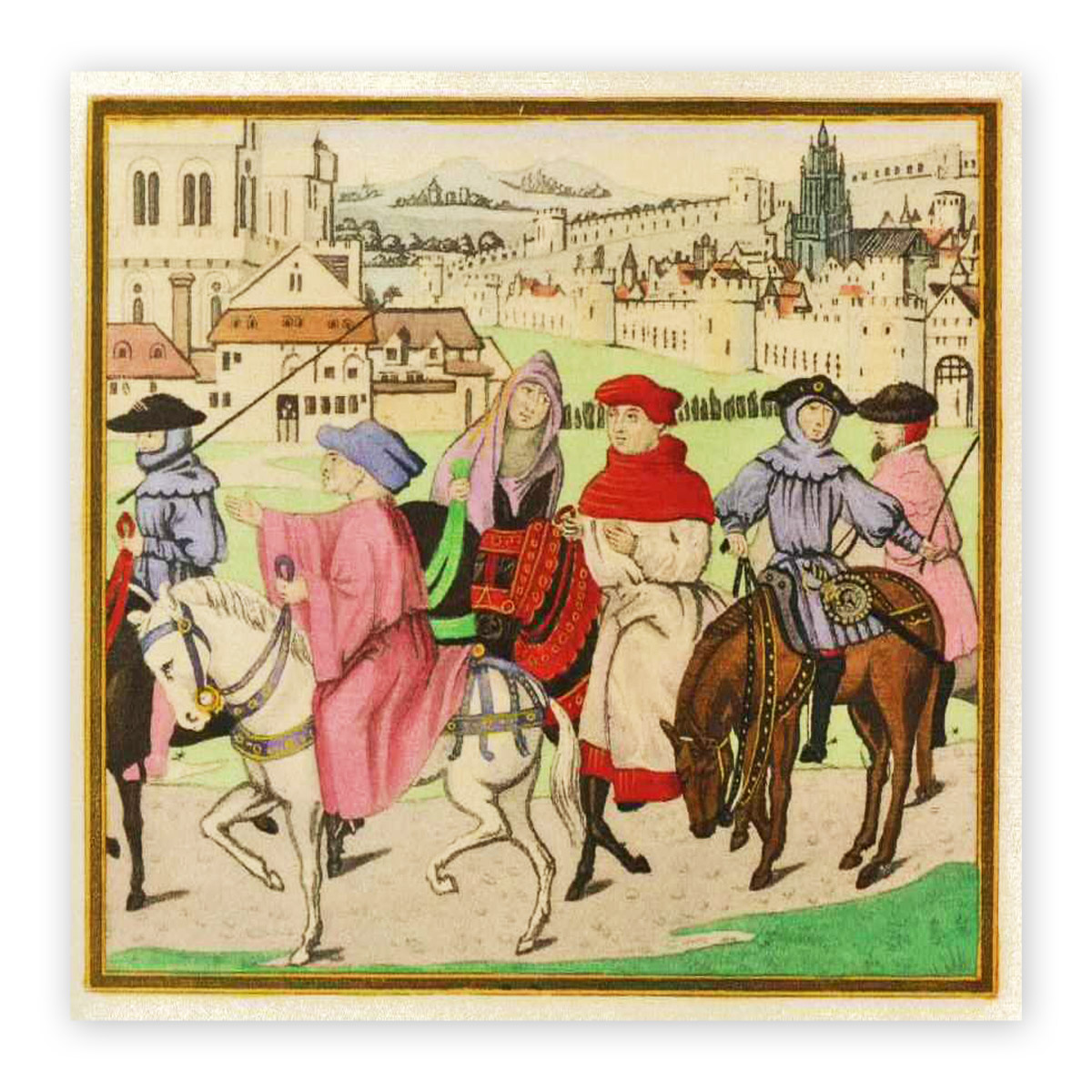 the use of satirization in canterbury tales by geoffrey chaucer Chaucer's presentation of the church in the canterbury tales  chaucer's presentation of the church in the canterbury  6 geoffrey /' chaucer, canterbury tales,.